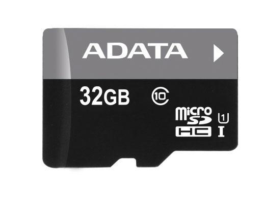 Memoria Flash Adata, 32GB microSDHC UHS-I Clase 10, con Lector microReader V3