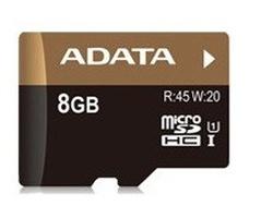 Memoria Flash Adata Premier Pro, 8GB microSDHC UHS-I, con Adaptador