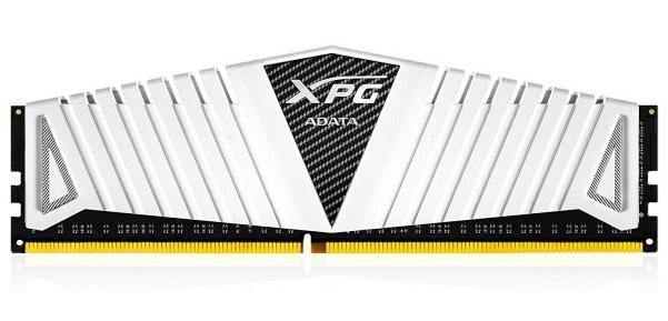 Memoria RAM XPG Z1 DDR4, 2400MHz, 4GB, CL16, Blanco