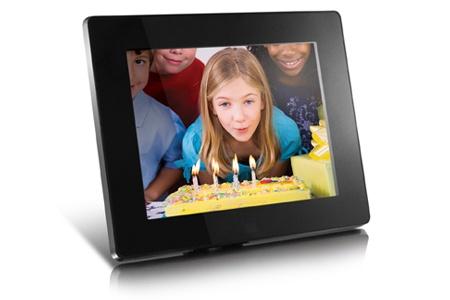 """Marco Digital Aluratek ADMPF108F LCD 8"""", 800 x 600 Pixeles, Negro"""