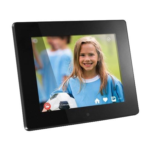 "Marco Digital Aluratek AWDMPF208F LCD 8"", 1024 x 768 Pixeles, Inalámbrico, Negro"