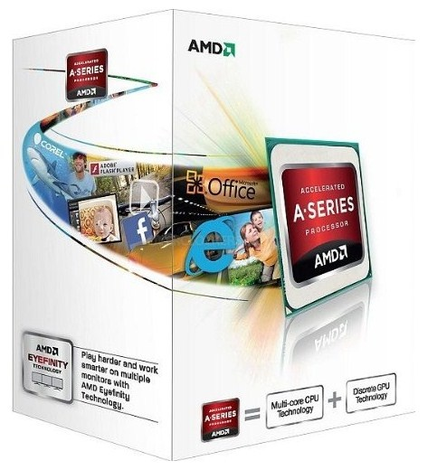 Procesador AMD A4-4000, S-FM2, 3.00GHz (hasta 3.2GHz c/ Turbo Boost), Dual-Core, 1MB L2 Cache