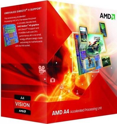 Procesador AMD A4-6300, S-FM2, 3.70GHz (hasta 3.9GHz c/ Turbo Boost), Dual-Core, 1MB L2 Cache