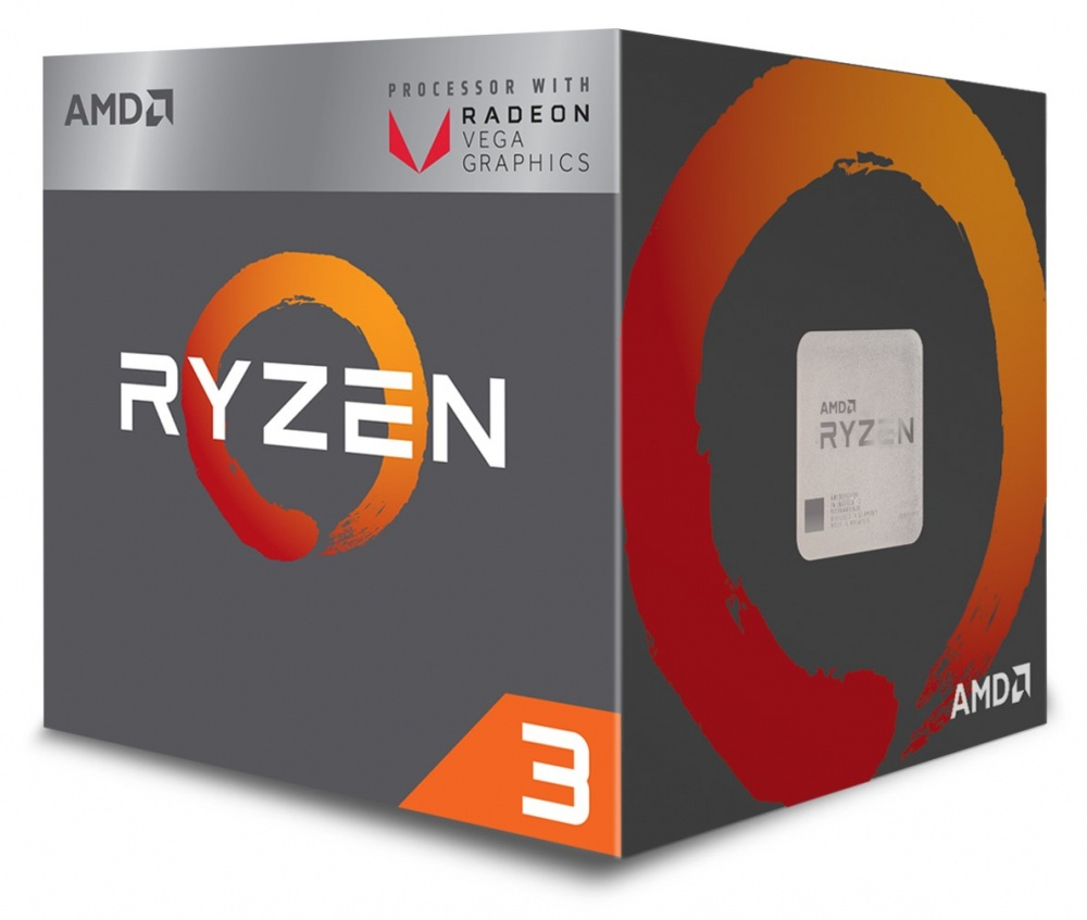 Procesador AMD Ryzen 3 2200G, S-AM4, 3.50GHz, Quad-Core, 2MB L2 Cache