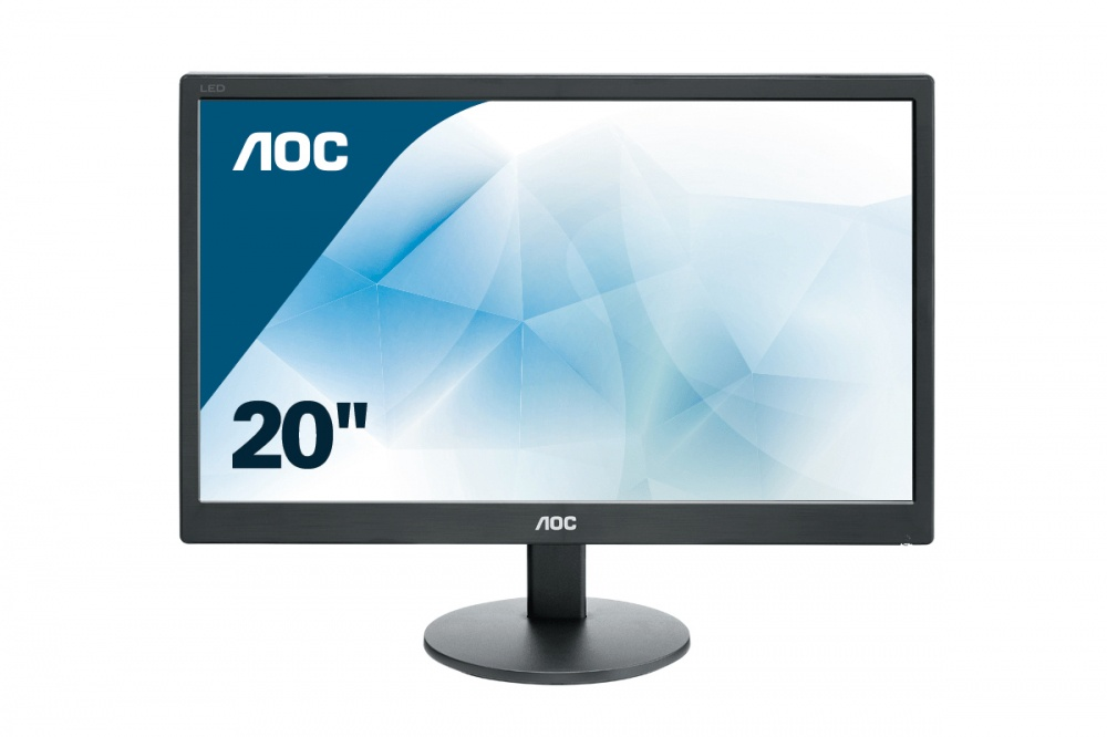 Monitor AOC e2070Swn LED 19.5'', Widescreen, Negro
