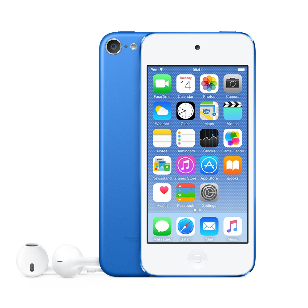 Apple iPod Touch 32GB, 8MP + 1.2MP, Apple A8, Bluetooth 4.1, Azul