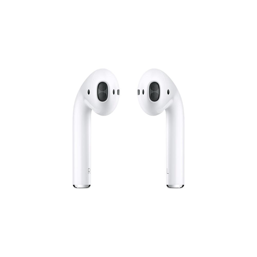 Apple Audífonos Intrauriculares AirPods (1a generación), Inalámbrico, Bluetooth, Blanco