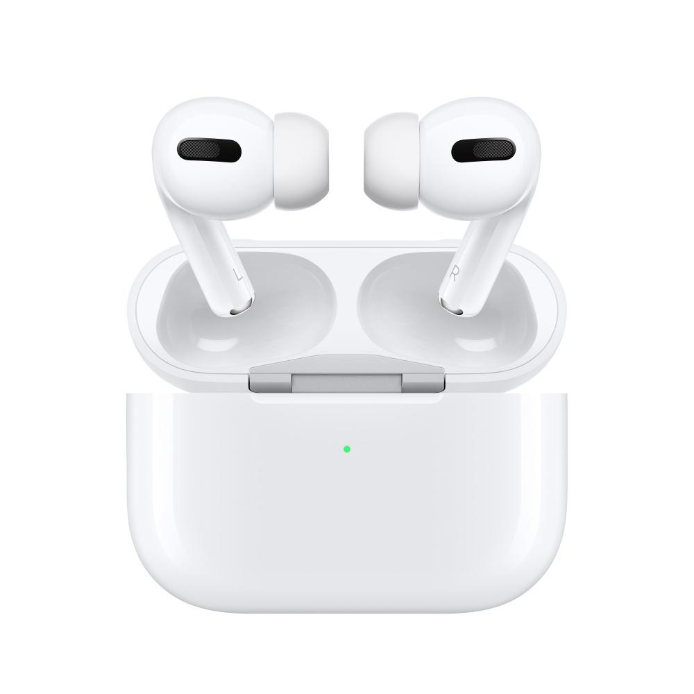 Apple AirPods Pro, Inalámbrico, Bluetooth, Blanco - incluye Estuche de Carga Inalámbrica