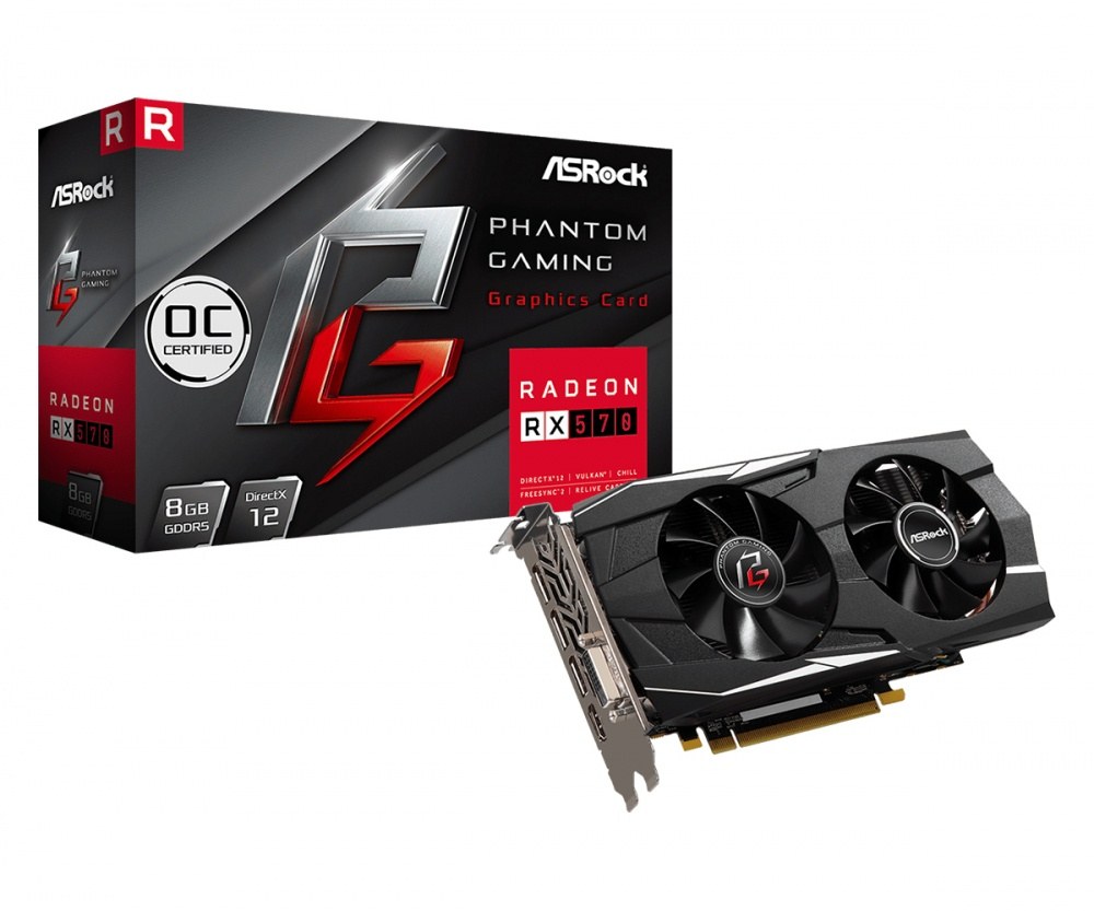 Tarjeta de Video ASRock AMD Radeon RX 570 Gaming OC, 8GB 256-bit GDDR5, PCI Express x16 3.0 - ¡Gratis 3 meses Xbox Game Pass PC! (1 código por cliente)