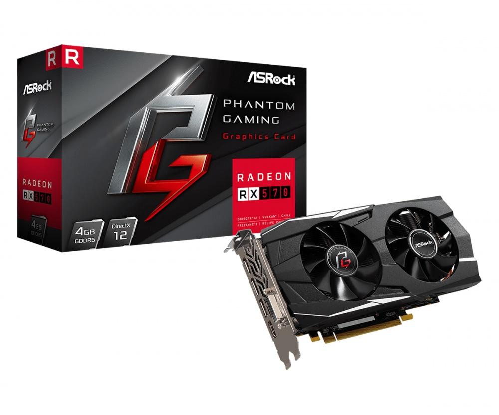 Tarjeta de Video ASRock AMD Radeon RX 570 Phantom Gaming, 4GB 256-bit GDDR5, PCI Express x16 3.0 - ¡Gratis 3 meses de Xbox Game Pass para PC! (un código por cliente)