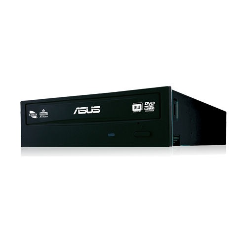 ASUS DRW-24F1ST Quemador de DVD, DVD-R 24x / CD-RW 40x, SATA, Interno, Negro (Bulk)
