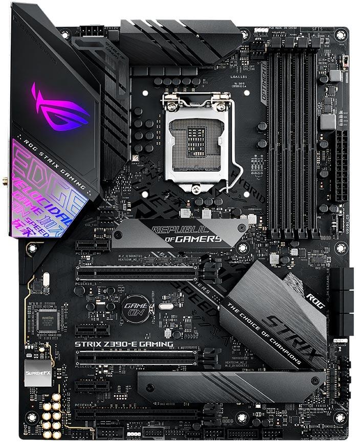 Tarjeta Madre ASUS ATX ROG STRIX Z390-E GAMING, S-1151, Intel Z390, HDMI, 64GB DDR4 para Intel ― Compatibles solo con 8va & 9va Generación