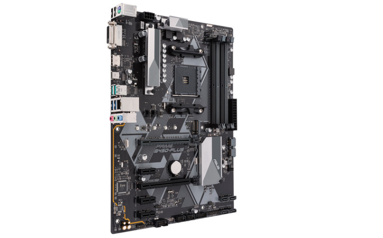 Tarjeta Madre ASUS ATX PRIME B450-PLUS, S-AM4, AMD B450, HDMI, 64GB DDR4 para AMD