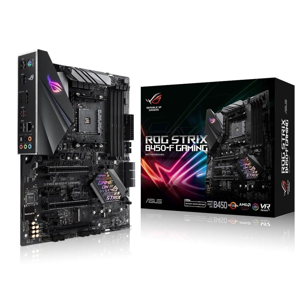 Tarjeta Madre ASUS ATX ROG Strix B450-F Gaming, S-AM4, AMD B450, HDMI, 64GB DDR4 para AMD