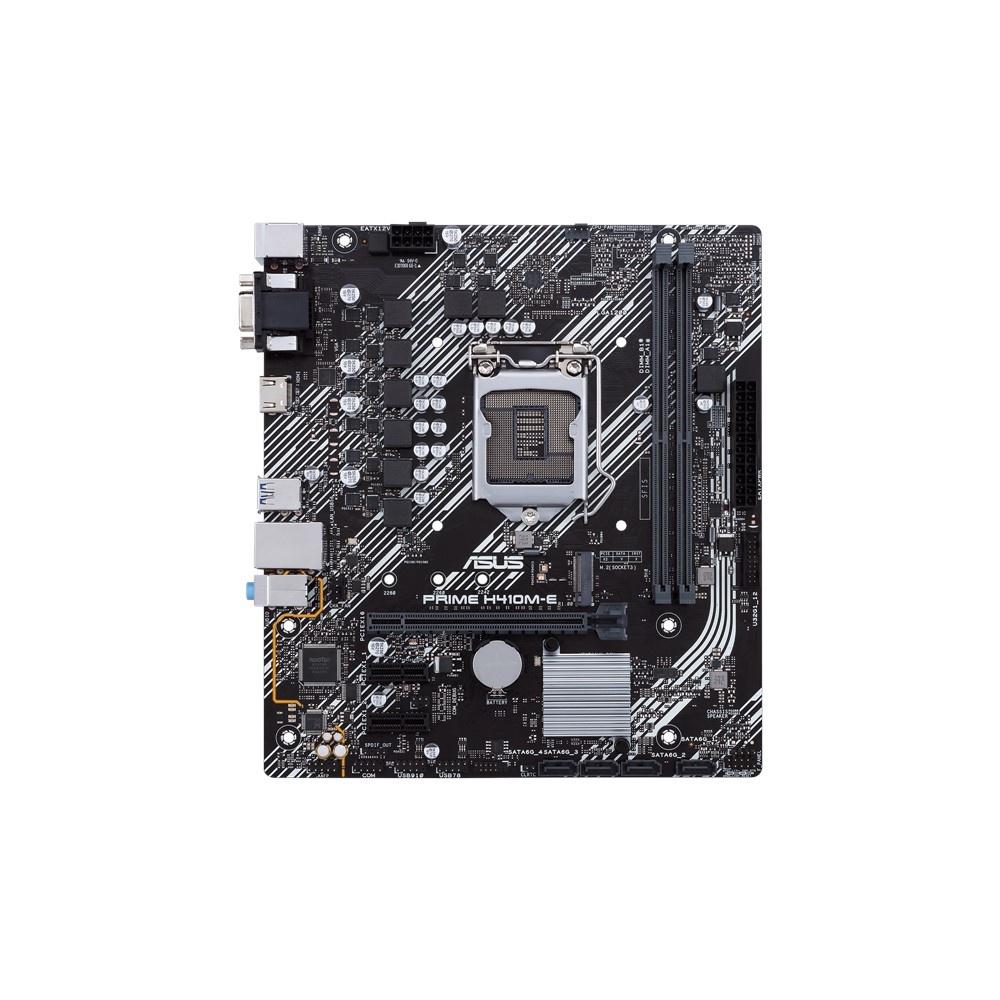 Tarjeta Madre ASUS Micro ATX PRIME H410M-E, S-1200, Intel H410, HDMI, 64GB DDR4 para Intel