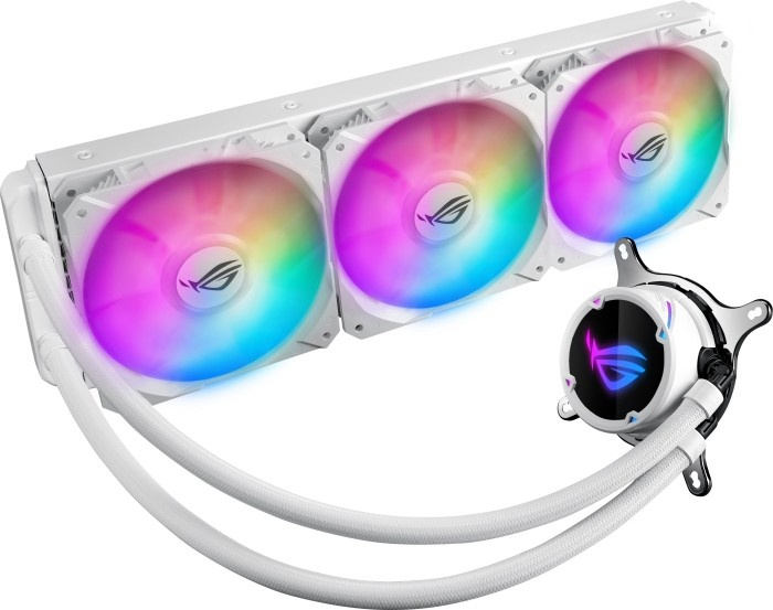 ASUS ROG Strix LC 360 RGB White Enfriamiento Líquido para CPU, 3x 120mm, 800 - 2500RPM