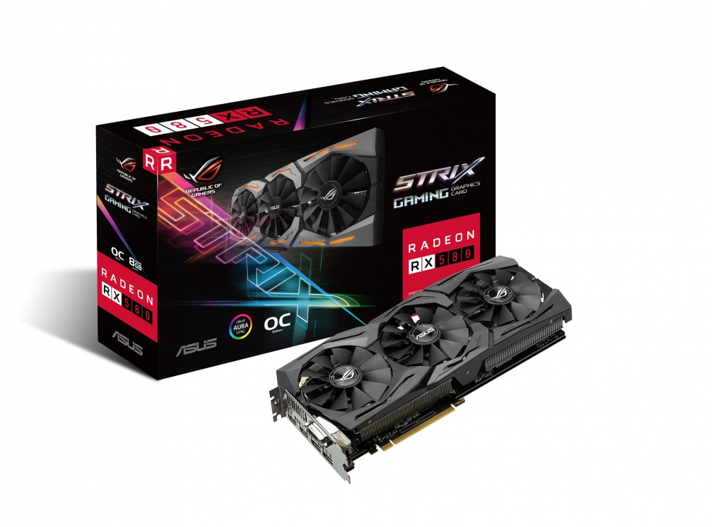 Tarjeta de Video ASUS AMD Radeon RX 580 Gaming, 8GB 256-bit GDDR5, PCI Express 3.0 - ¡Gratis 3 meses Xbox Game Pass PC! (1 código por cliente)