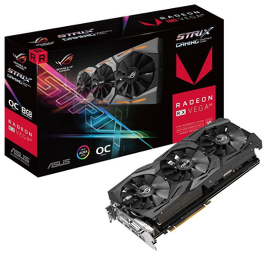 Tarjeta de Video ASUS AMD Radeon RX Vega 64 ROG Strix Gaming OC, 8GB 2048 bit HBM2, PCI Express 3.0 - ¡Gratis 3 meses Xbox Game Pass PC! (1 código por cliente)