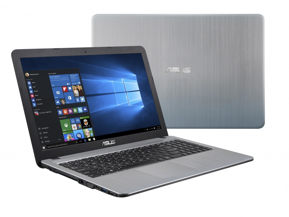 "Laptop ASUS A540BA-GQ216T 15.6"" HD, AMD A6-9225 2.60GHz, 4GB, 500GB, Windows 10 Home 64-bit, Plata"