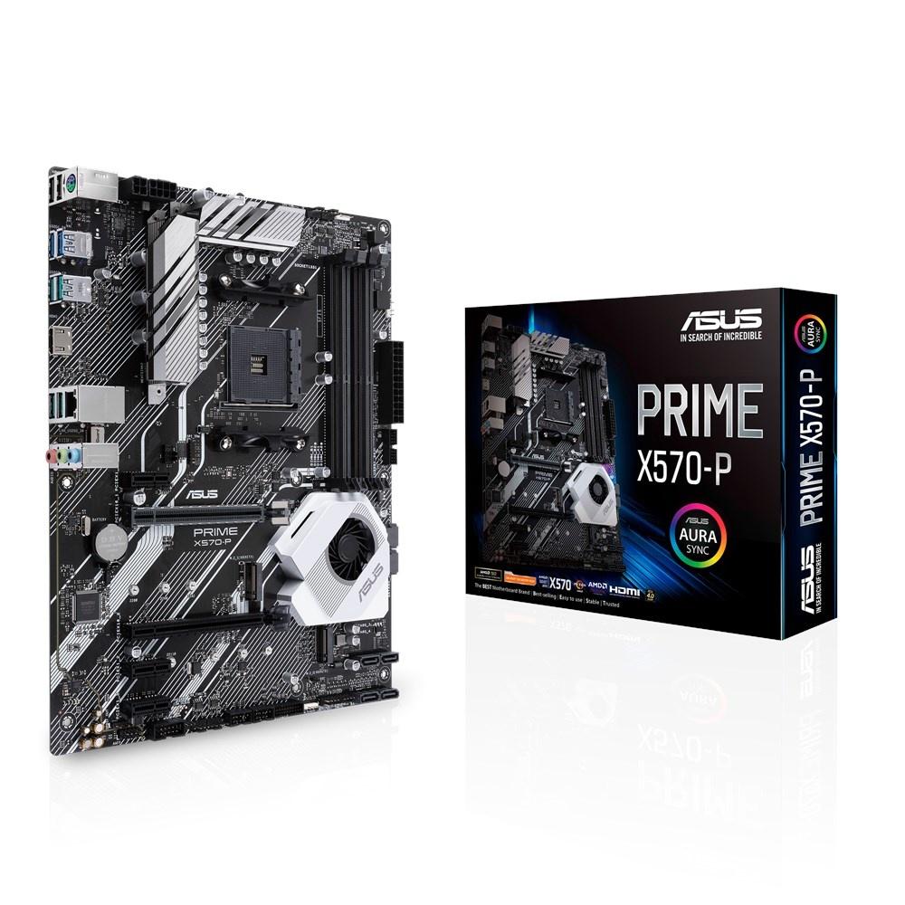 Tarjeta Madre ASUS ATX Prime X570-P, S-AM4, AMD X570, HDMI, 128GB DDR4 para AMD Ryzen