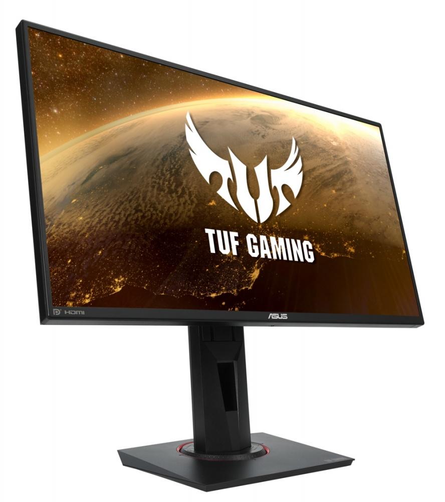 "Monitor Gamer ASUS TUF Gaming LED 24.5"", Full HD, Widescreen, G-Sync, 144Hz, HDMI, Bocinas Integradas (2 x 4W), Negro"