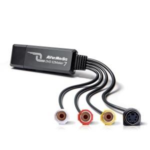 AVermedia Capturadora de Video EZMaker 7 VHS a DVD, USB 2.0