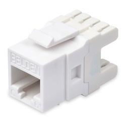 Belden Jack Modular Cat6+ KeyConnect, 1x RJ-45, Blanco