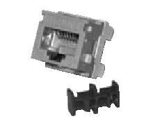 Belden Jack Modular Categoría 6+, RJ-45, Estilo KeyConnect, Negro