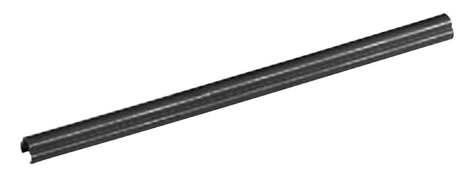 Belden Canaleta, 15.7 x 8cm, Negro