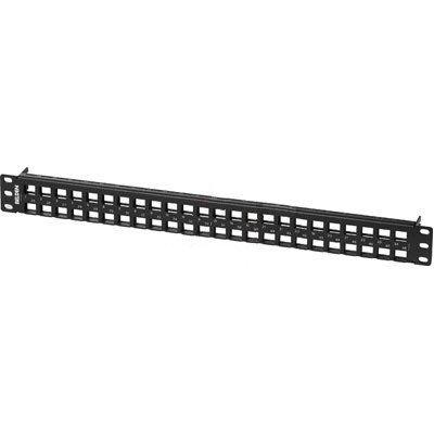 Belden Panel de Parcheo para Rack 2U, 48 Puertos RJ-45, Negro