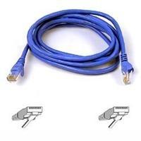 Belkin Cable Patch Cat5e UTP Moldeado RJ-45 Macho - RJ-45 Macho, 1.5 Metros, Azul