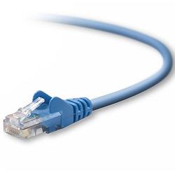 Belkin Cable Patch Cat5e UTP RJ-45 Macho - RJ-45 Macho, 12.1 Metros, Azul