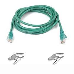 Belkin Cable Patch Cat6 UTP sin Enganches RJ-45 Macho - RJ-45 Macho, 30cm, Verde