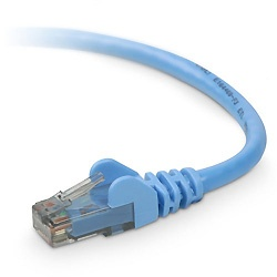 Belkin Cable Patch Cat6 UTP Blindado sin Enganches RJ-45 Macho - RJ-45 Macho, 4.2 Metros, Azul