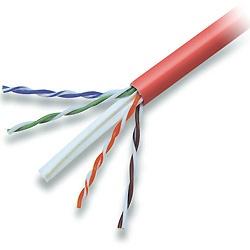 Belkin Bobina de Cable Cat6 UTP, 305 Metros, Rojo