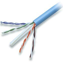 Belkin Bobina de Cable Cat6 UTP Plenum, 305 Metros, Azul