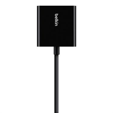 Belkin Adaptador HDMI Hembra - VGA Hembra, Negro