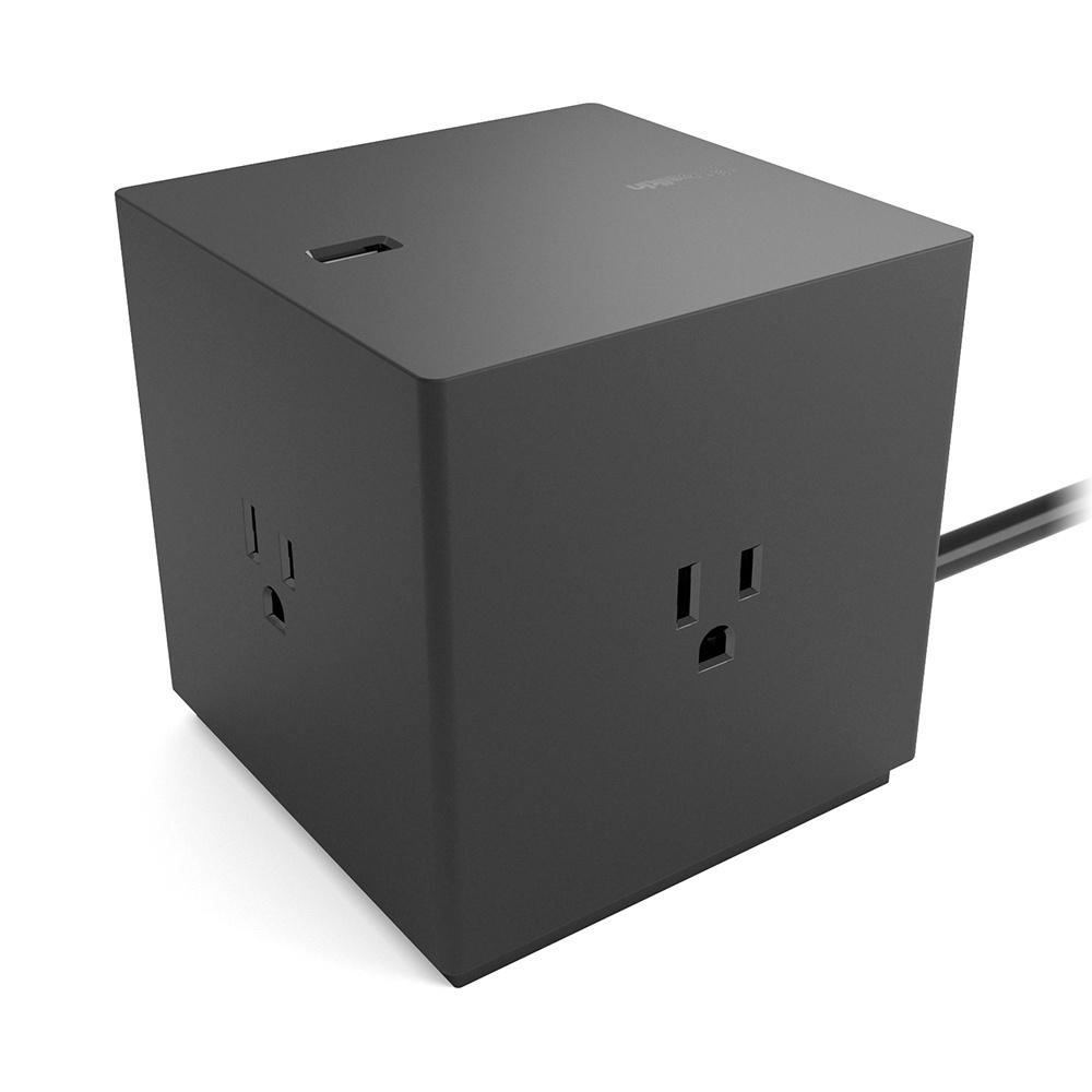 Belkin Cargador Multicontactos BOOST↑CHARGE, 4 Contactos, 4x USB, Negro