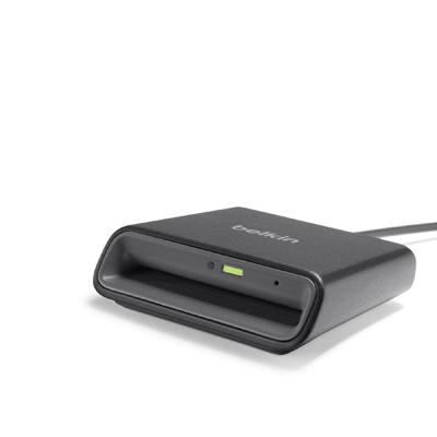Belkin Lector de Tarjetas Inteligente F1DN005U, USB 2.0, Negro