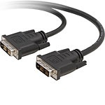 Belkin Cable DVI-D Macho - DVI-D Macho, 4.8 Metros, Negro
