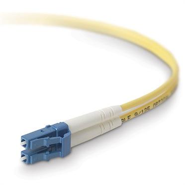 Belkin Cable Fibra Óptica Single LC Macho - LC Macho, 8.3/125µm, 10 Metros, Amarillo