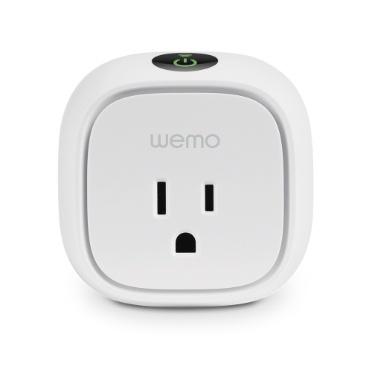 Belkin Smart Plug WeMo, 1 Puerto, WiFi, Blanco