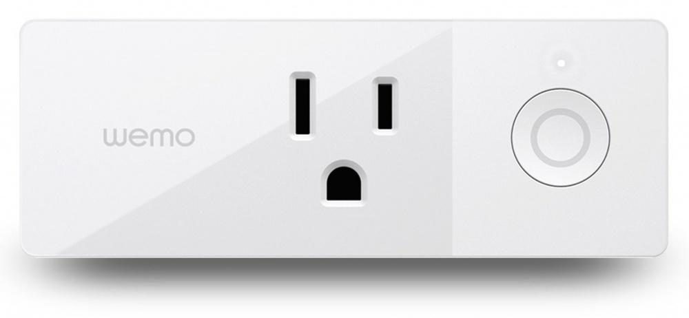 Belkin Smart Plug WeMo, 1 Contacto, 1800W, WiFi