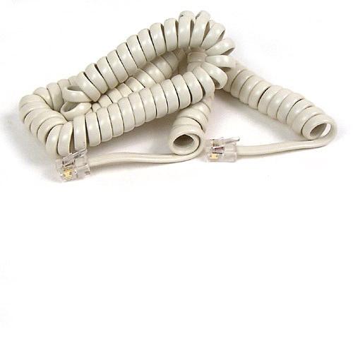 Belkin Cable Telefónico F8V101-12-IV, RJ-11 Macho - RJ-11 Macho, 3.7 Metros, Blanco