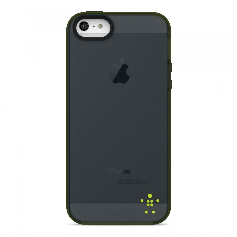Belkin Funda para iPhone 5, Negro