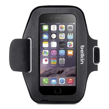 Belkin Brazalete Sport-Fit para iPhone 6/6S, Negro/Blanco