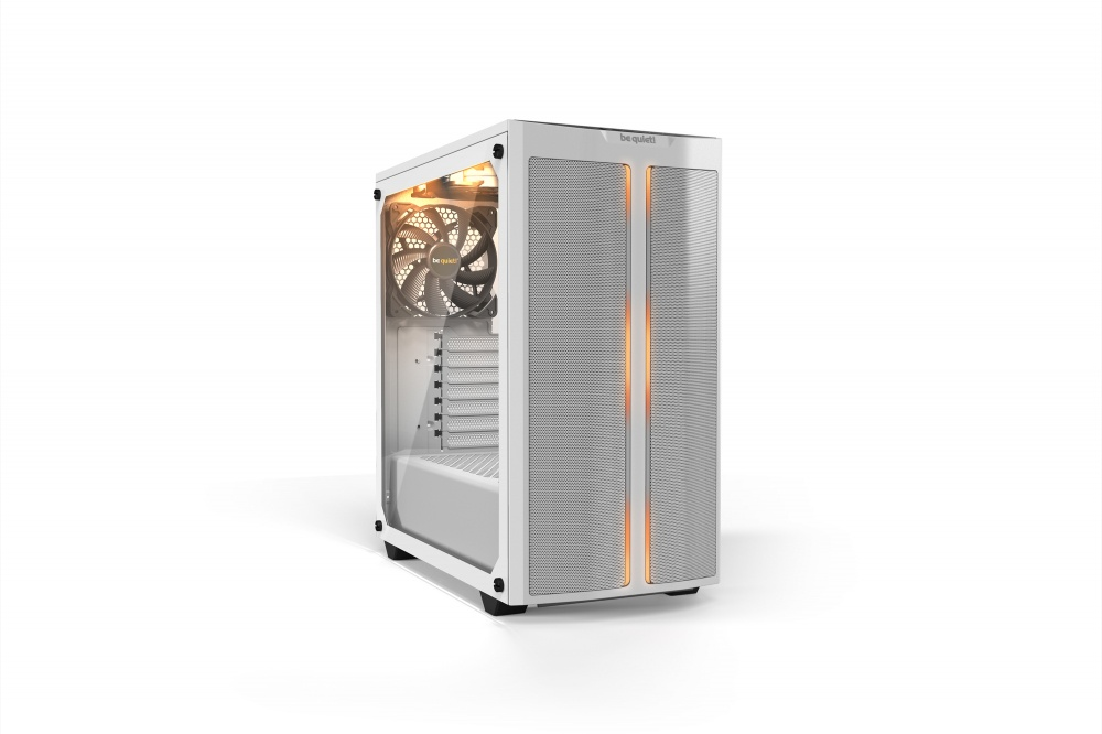 Gabinete be quiet! Pure Base 500DX con Ventana RGB, Midi Tower, ATX/micro ATX/Mini-ATX, USB 3.0, sin Fuente, Blanco