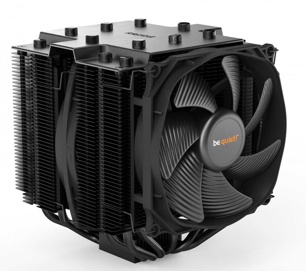 Disipador CPU be quiet! Dark Rock Pro 4, 120/135mm, 1500RPM, Negro