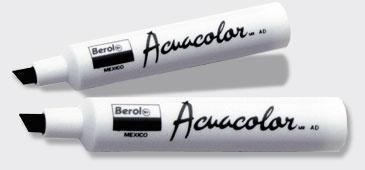 Berol Marca Texto Base Agua Acuacolor, Azul Claro