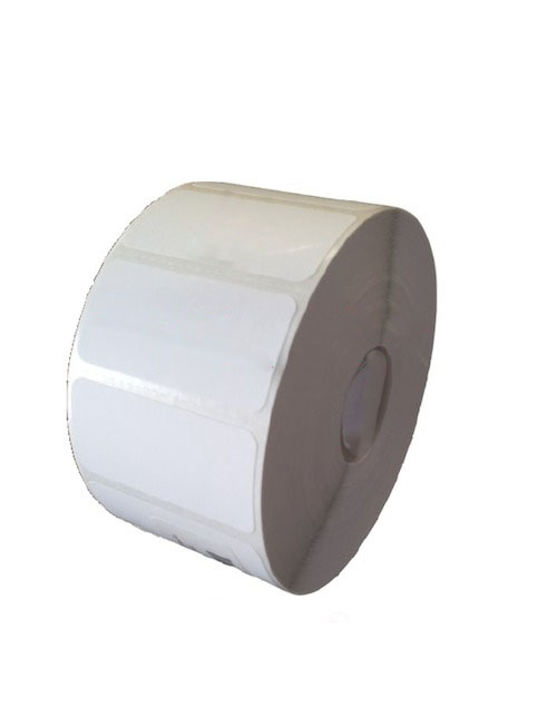 Bestval Rollo de Etiquetas 1000103, 51 x 25mm, 2 x 1775 Etiquetas, Blanco